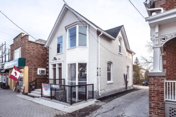 House exterior reno