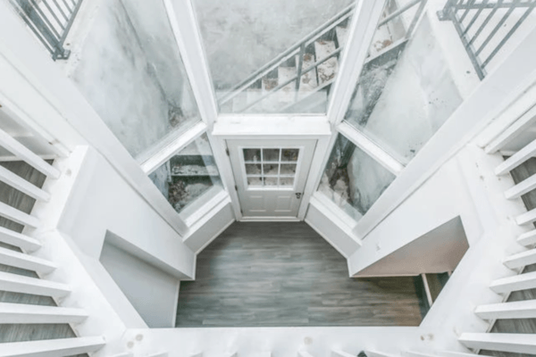 interior foyer reno finished