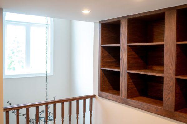 custom library attic reno