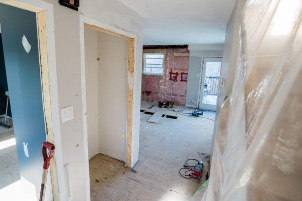 trefusis house reno in progress